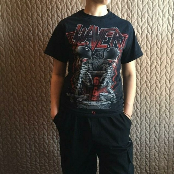 Fruit of the Loom Other - Slayer Band Black Tee Shirt